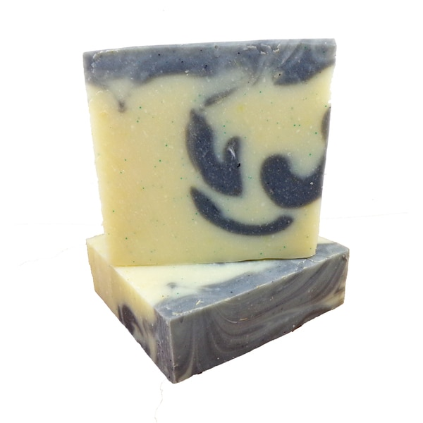 Karess Krafters Lime and Basil 4-ounce Natural Handmade Vegan Bar Soap