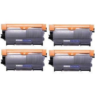 TN450 Black Toner Cartridge for Brother Printers (Pack of 4)