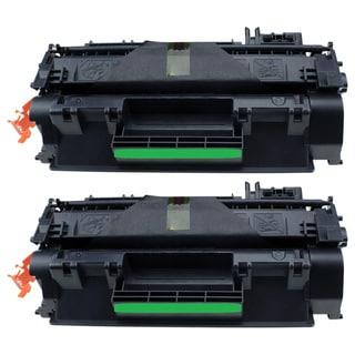CE505X Black Toner Cartridge for HP Printers (Pack of 2)