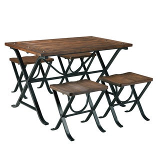 Signature Design by Ashley Freimore Table and Stools Set