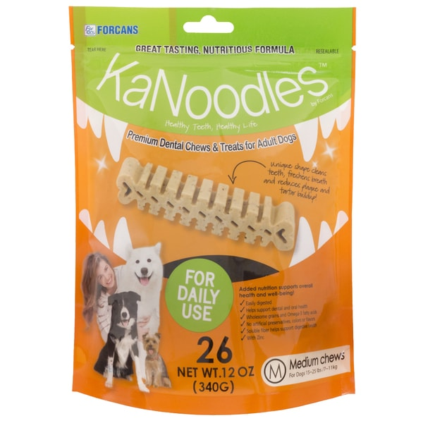 KaNoodles Premium Dental Chew Dog Treats