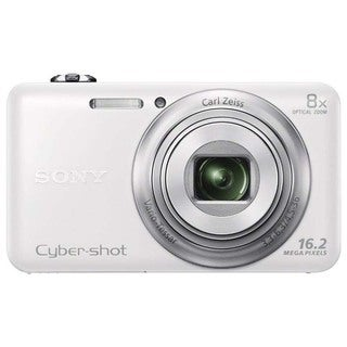 Sony DSC-WX80 White 16MP 1080p 2.7-inch Screen Wi-Fi Digital Camera (Refurbished)