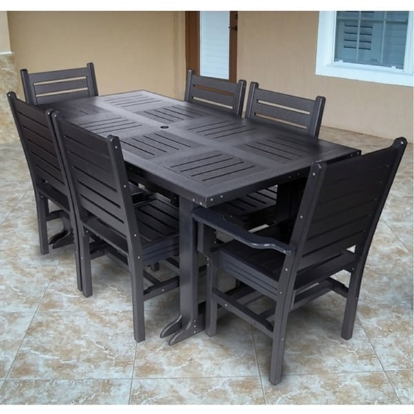 Eagle One 7-piece Outdoor Dining Set