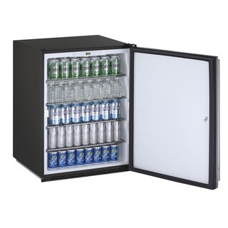 U-Line ADA Series- 24 Inch ADA Compliant Stainless Steel Door All Refrigerator w/ Lock