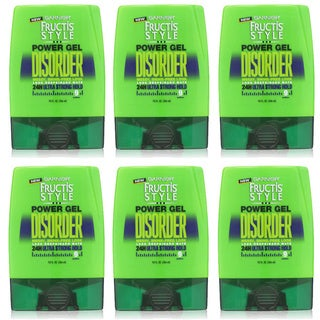 Garnier Fructis Style Disorder 9-ounce Power Gel (Pack of 6)