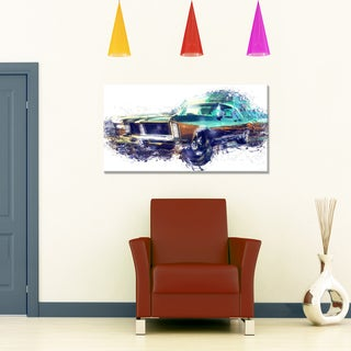 Pure American Muscle Small Gallery Wrapped Canvas