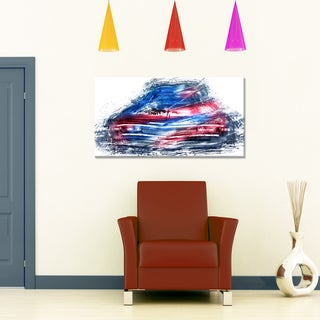 Classic Low Rider Small Gallery Wrapped Canvas