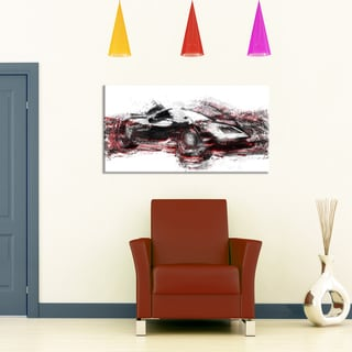 Modern Super Car Small Gallery Wrapped Canvas