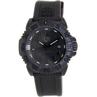 Luminox Men's SEA 3051.BO Black Silicone Swiss Quartz Watch