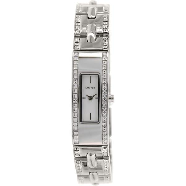 DKNY Women's NY2175 Silvertone Stainless Steel Swiss Quartz Watch