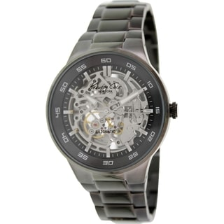 Kenneth Cole Men's KC9343 Black Stainless Steel Automatic Watch