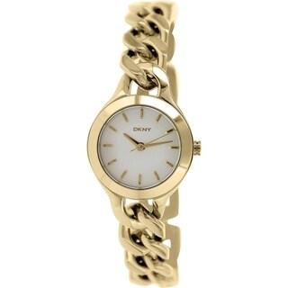 DKNY Women's Chambers NY2213 Goldtone Stainless Steel Quartz Watch