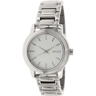 DKNY Women's Tompkins NY2209 Silvertone Stainless Steel Quartz Watch
