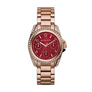 Michael Kors Women's Blair MK6092 Rose Gold Stainless Steel Quartz Watch
