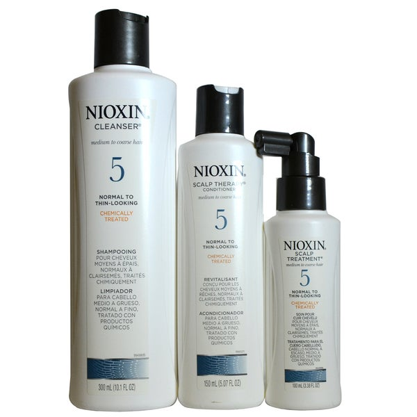 Nioxin #5 Cleanser and Scalp Treatment System Kit