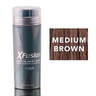 XFusion Medium Brown Keratin Fibers