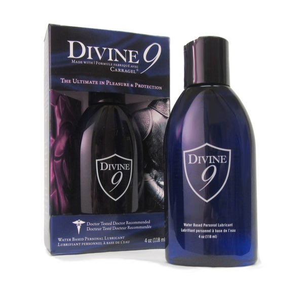 Divine 9 Water Based Personal Lubricant
