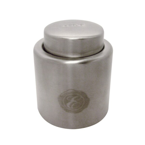 Epicureanist Stainless Steel Wine Bottle Stopper