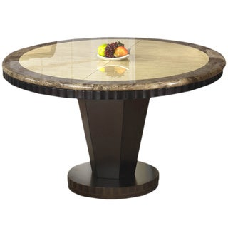 Corallo Marble Round Dining Table