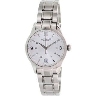 Victorinox Swiss Army Women's Alliance 241539 Silver Stainless-Steel Swiss Quartz Watch
