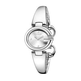 Gucci Women's YA134502 Guccissima Silver Watch
