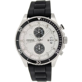 Fossil Men's Wakefield CH2933 Black Rubber Quartz Watch