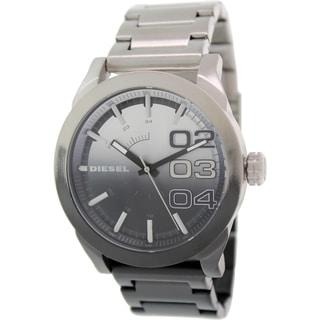 Diesel Men's Double Down DZ1679 Black Stainless Steel Quartz Watch