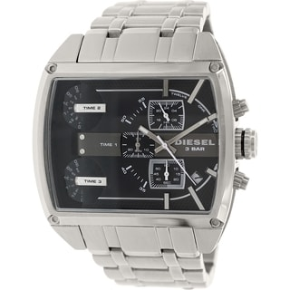 Diesel Men's Mothership DZ7324 Silvertone Stainless Steel Quartz Watch