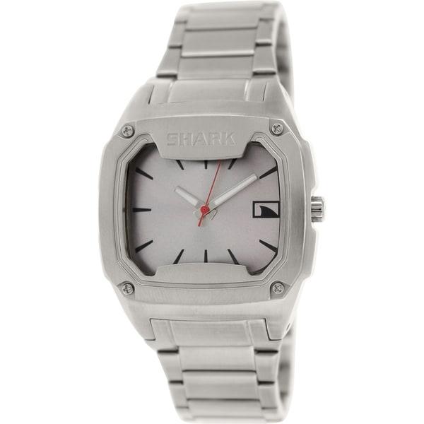 Freestyle Men's Killer Shark 101817 Silvertone Stainless Steel Quartz Watch