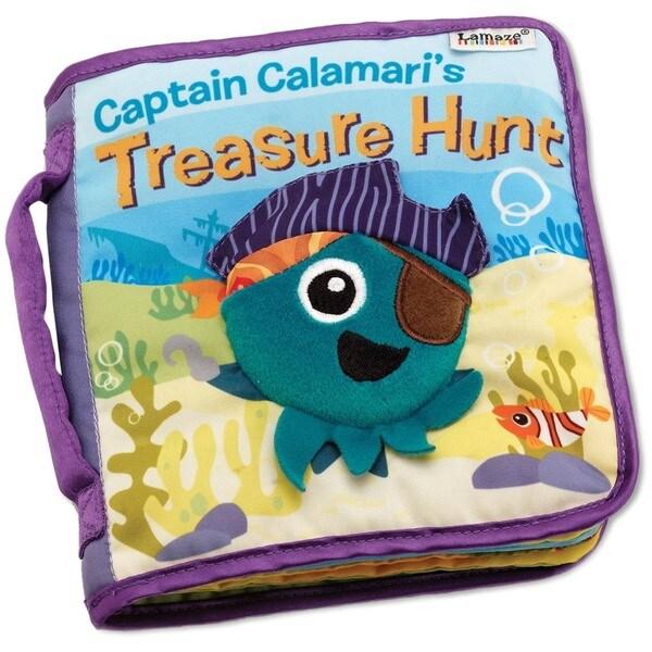 Lamaze Captain Calamari's Treasure Hunt Cloth Book
