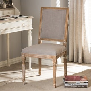 Clairette Wood Traditional French Accent Chair