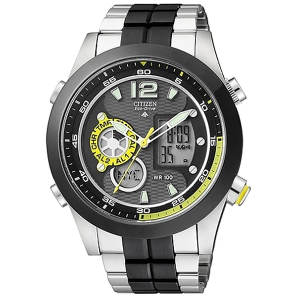 Citizen Men's Eco-drive JZ1005-58E Grey Stainless Steel Quartz Watch