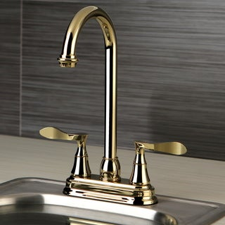 Modern Polished Brass Bar Faucet