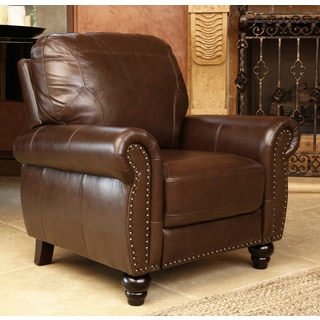 ABBYSON LIVING Bellavista Top Grain Leather Recliner