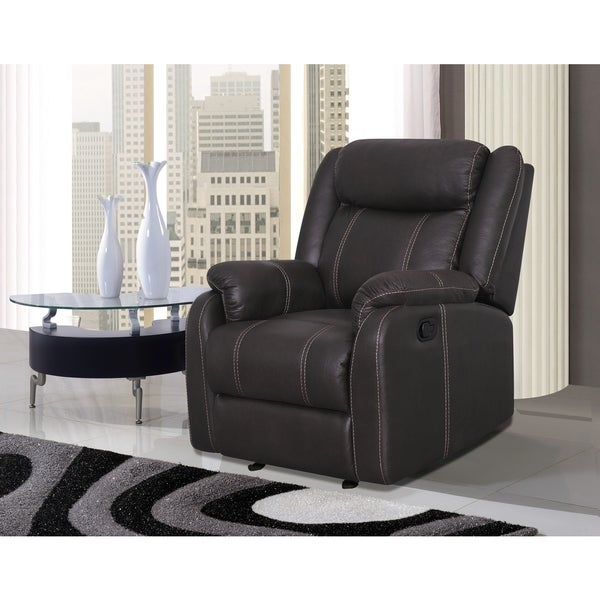 Glider Recliner Chair Gin Rummy Seal