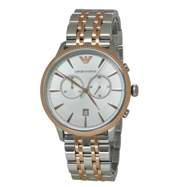 Armani Men's AR1826 Classic Two-tone Watch