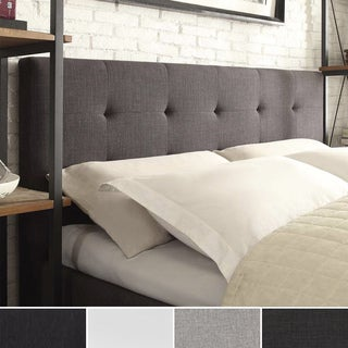 Jensen Upholstered Low Profile Tufted King Headboard