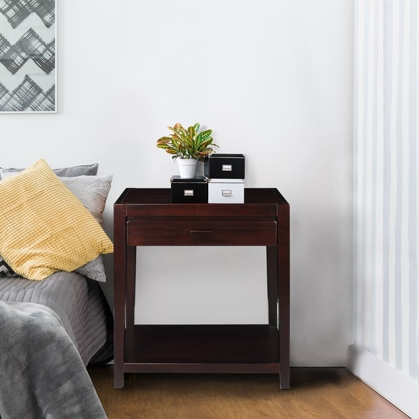 Notre Dame Nightstand with USB Port