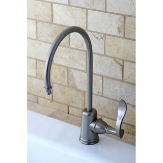 Modern Single-handle Satin Nickel Replacement Drinking Water Filteration Faucet