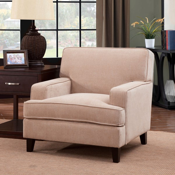 Furniture of America Varinne Modern Flannelette Chair