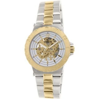 Invicta Women's Specialty 17249 Silvertone Stainless Steel Automatic Watch