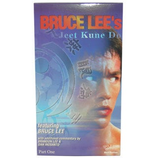 Bruce Lee Jun Fan Jeet Kune Do Training #1 VHS Videocassette