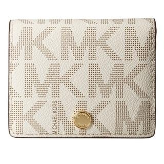 MICHAEL Michael Kors Jet Set Travel Flap MK Signature Wallet