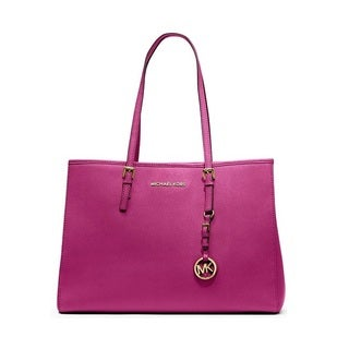 MICHAEL Michael Kors 'Jet Set' Large Leather East/West Tote