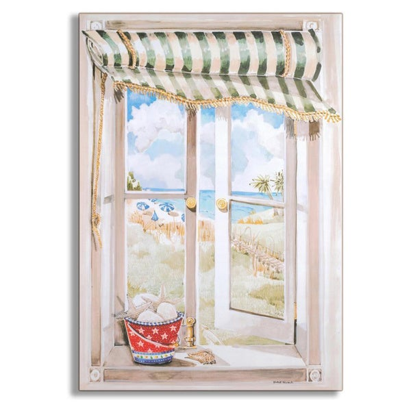 Seascape Faux Window Scene