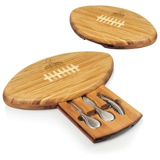 Super Bowl 49 'Quarterback' Bamboo Cutting Board and Tool Set
