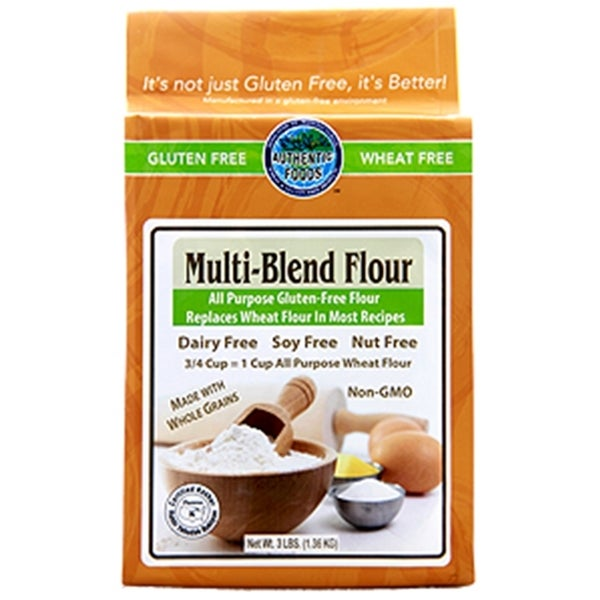 Authentic Foods Multi-blend Gluten-free Flour 3-pound Bag (Pack of 2) 14684438
