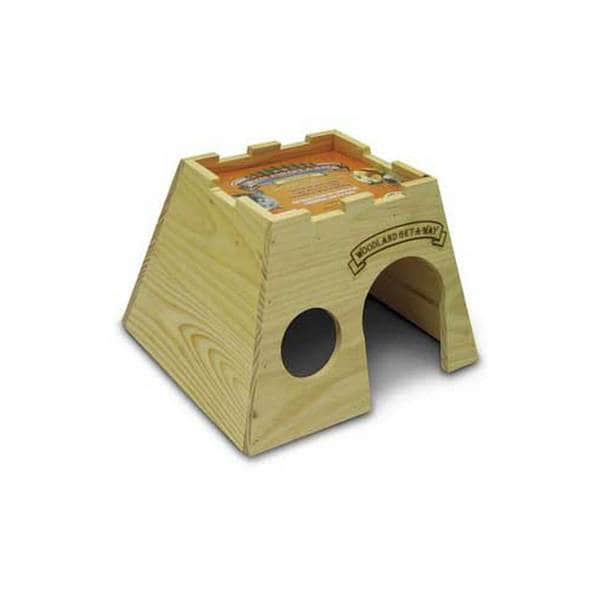 Superpet (Pets International) Woodland Get - A-Way Houses Large