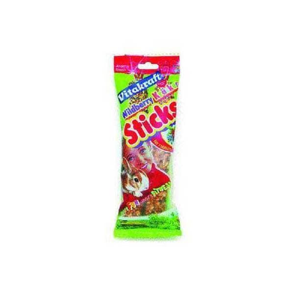 Vitakraft Rabbit Berry Stix 2Pk See - Through Packaging