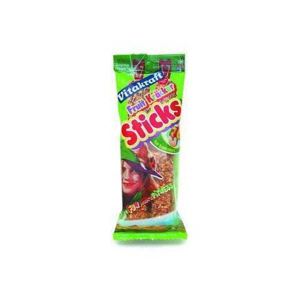 Vitakraft Hamster Fruit Stix 2Pk See - Through Packaging